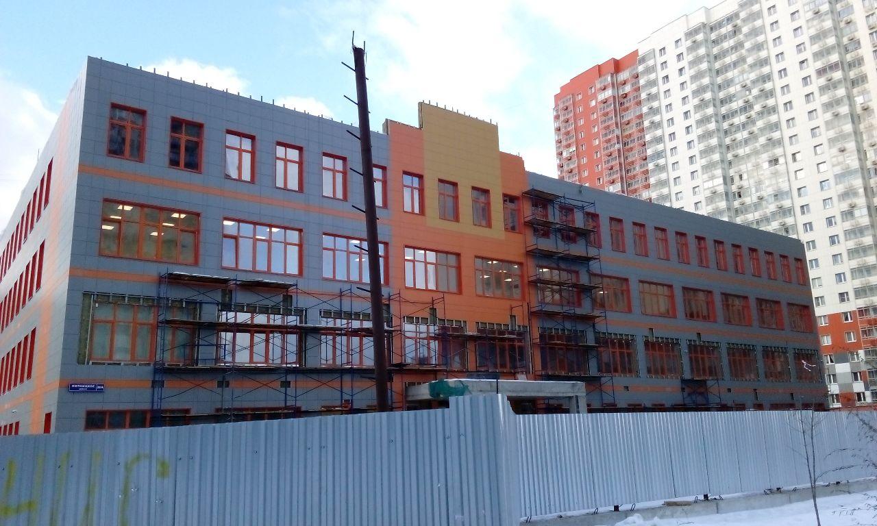 Строительство школы в Митино планируют завершить к лету