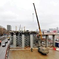 Эстакаду на Волоколамском шоссе откроют до конца года
