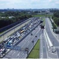 Одна из полос участка Волоколамского шоссе в районе канала им. Москвы будет перекрыта с 15 по 30 сентября