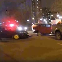 В ДТП в Митино пострадал один человек