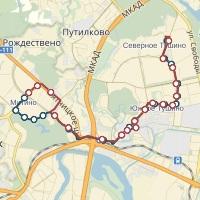 Остановка «Улица Барышиха» на автобусном маршруте №252 будет осуществляться по требованию