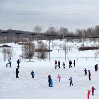 В парке «Митино» откроется самый большой в округе каток с искусственным льдом