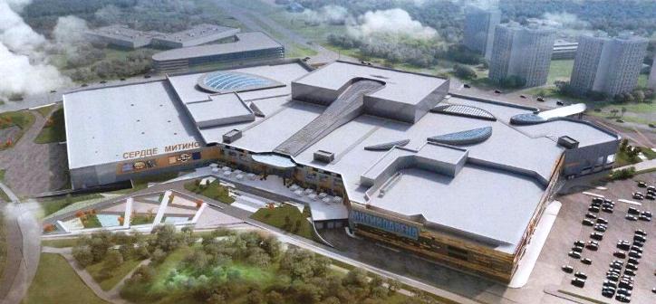 Торговый комплекс с ледовой ареной и кинопарком появится у метро «Митино»