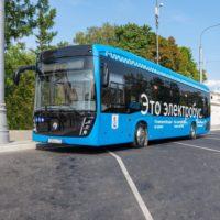 Автобусный парк в Митино перепрофилируют в электробусный