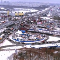 Реконструкцию развязки МКАД – Волоколамское шоссе планируют ускорить