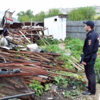 Незаконный пункт приема металлолома ликвидирован в Митино