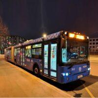 Ночной маршрут автобуса появится в Митино с 14 ноября