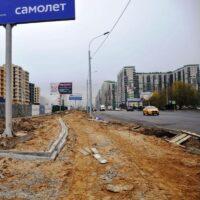 Путилковское шоссе в Красногорске реконструируют до конца года