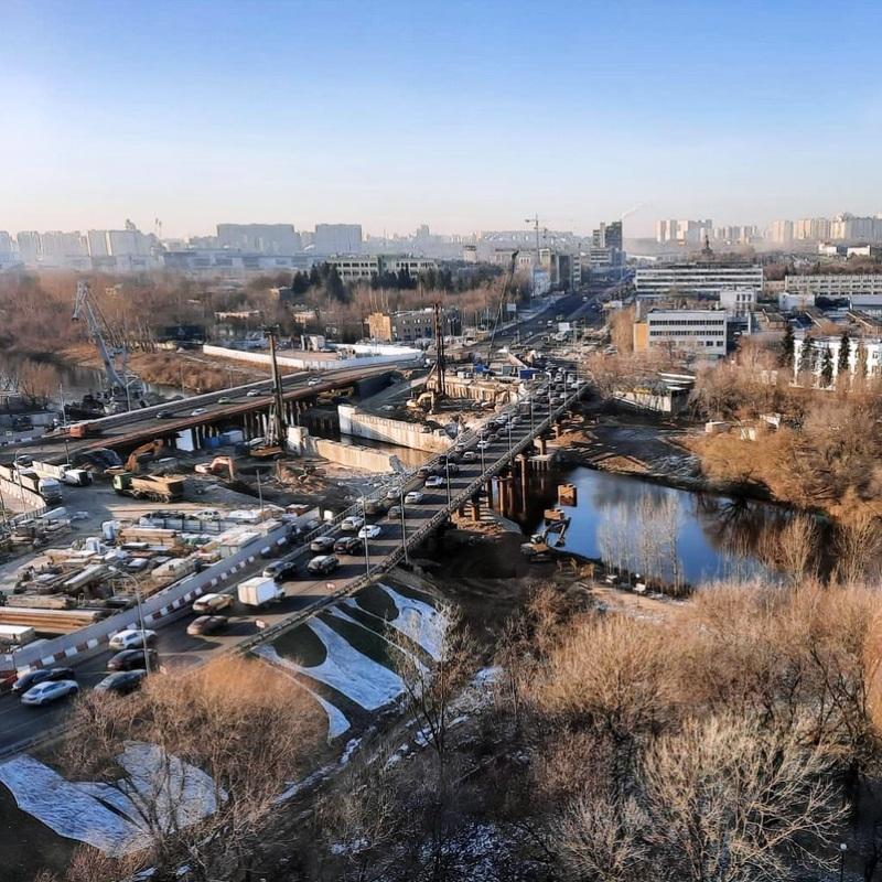 Новый мост через Сходню улучшит транспортное сообщение в пяти районах СЗАО