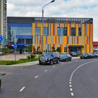 В районе Митино реконструируют физкультурно-оздоровительный комплекс